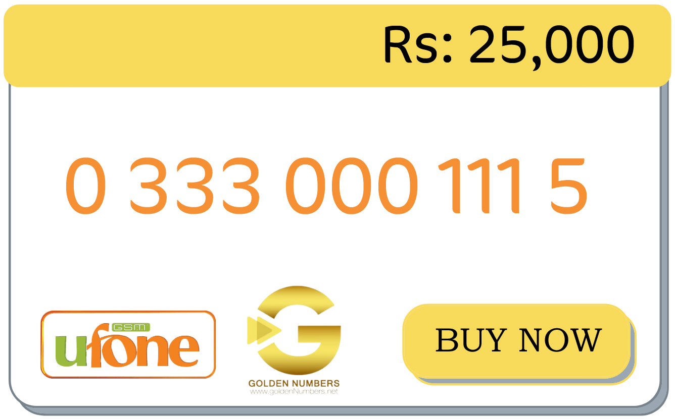 0333 golden numbers for sale