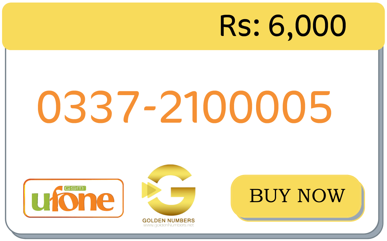 ufone tetra zero numbers for sale