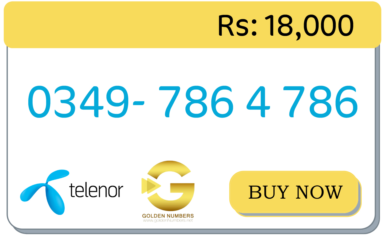 telenor numbers for sale online