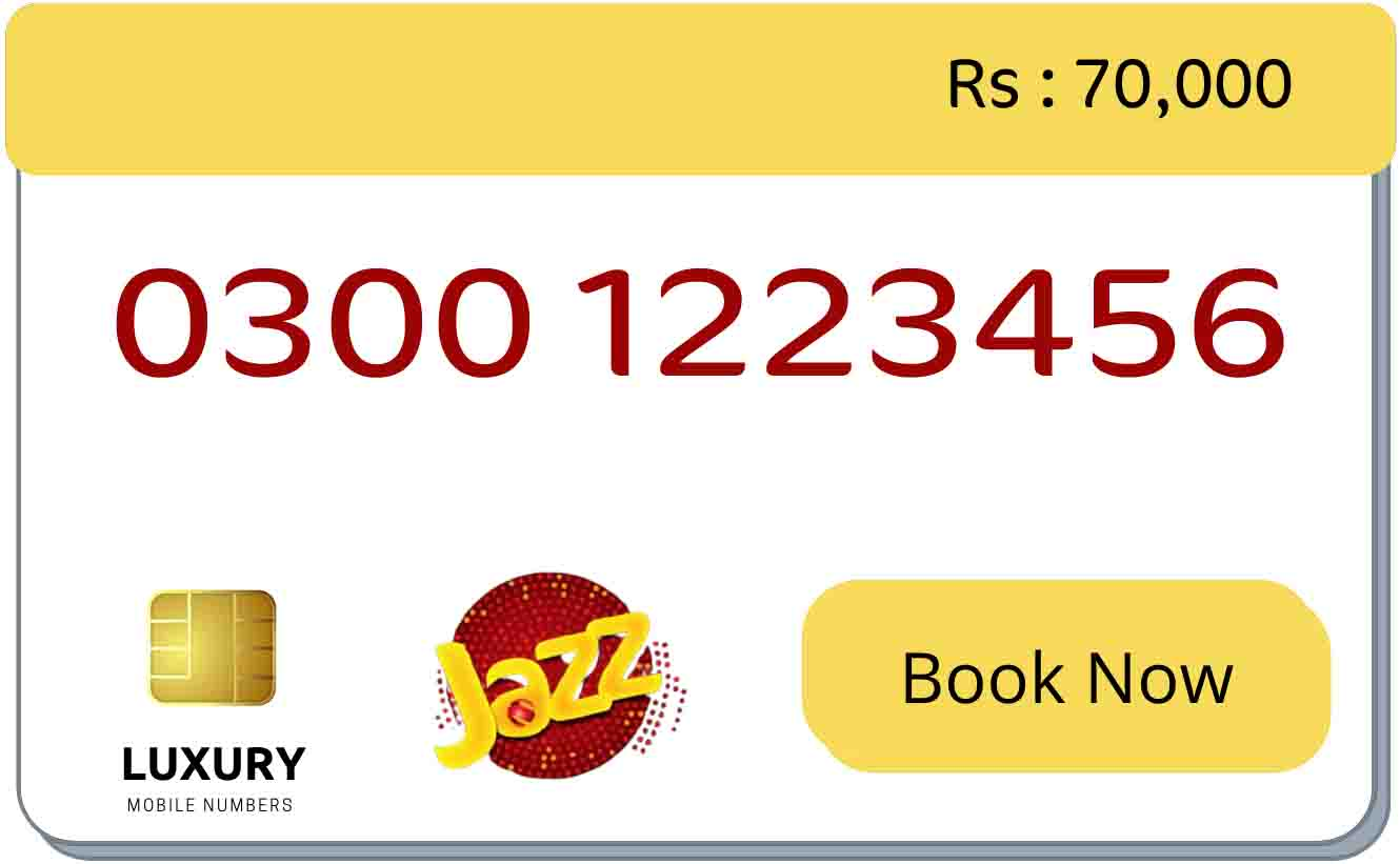 123456 number for sale