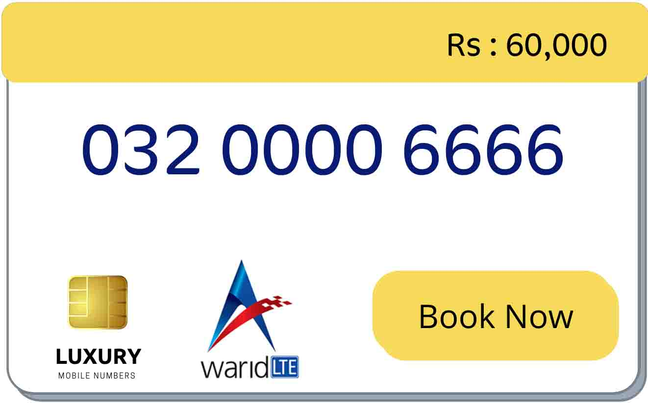 warid tetra number for sale