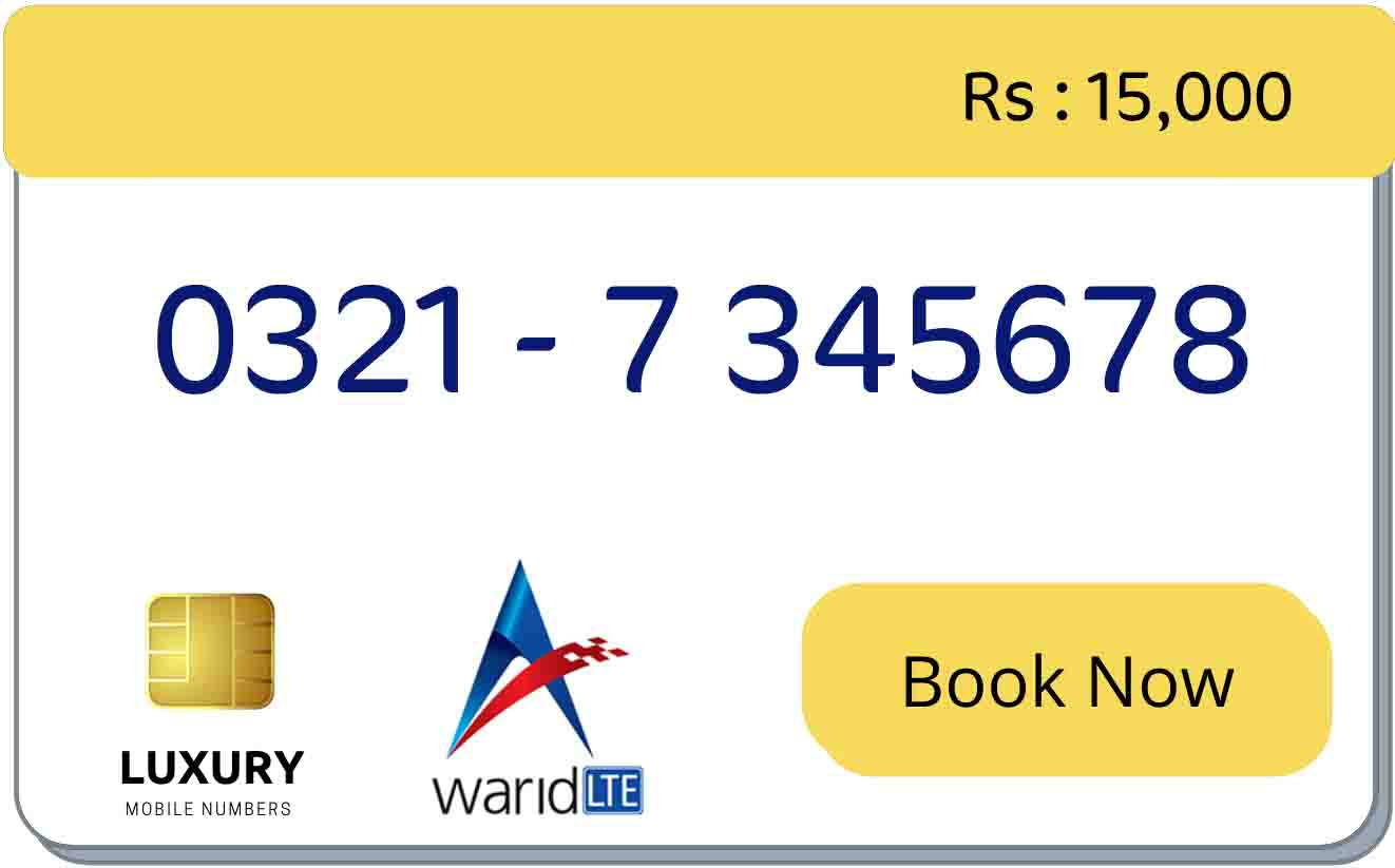 warid 0321 counting sequence