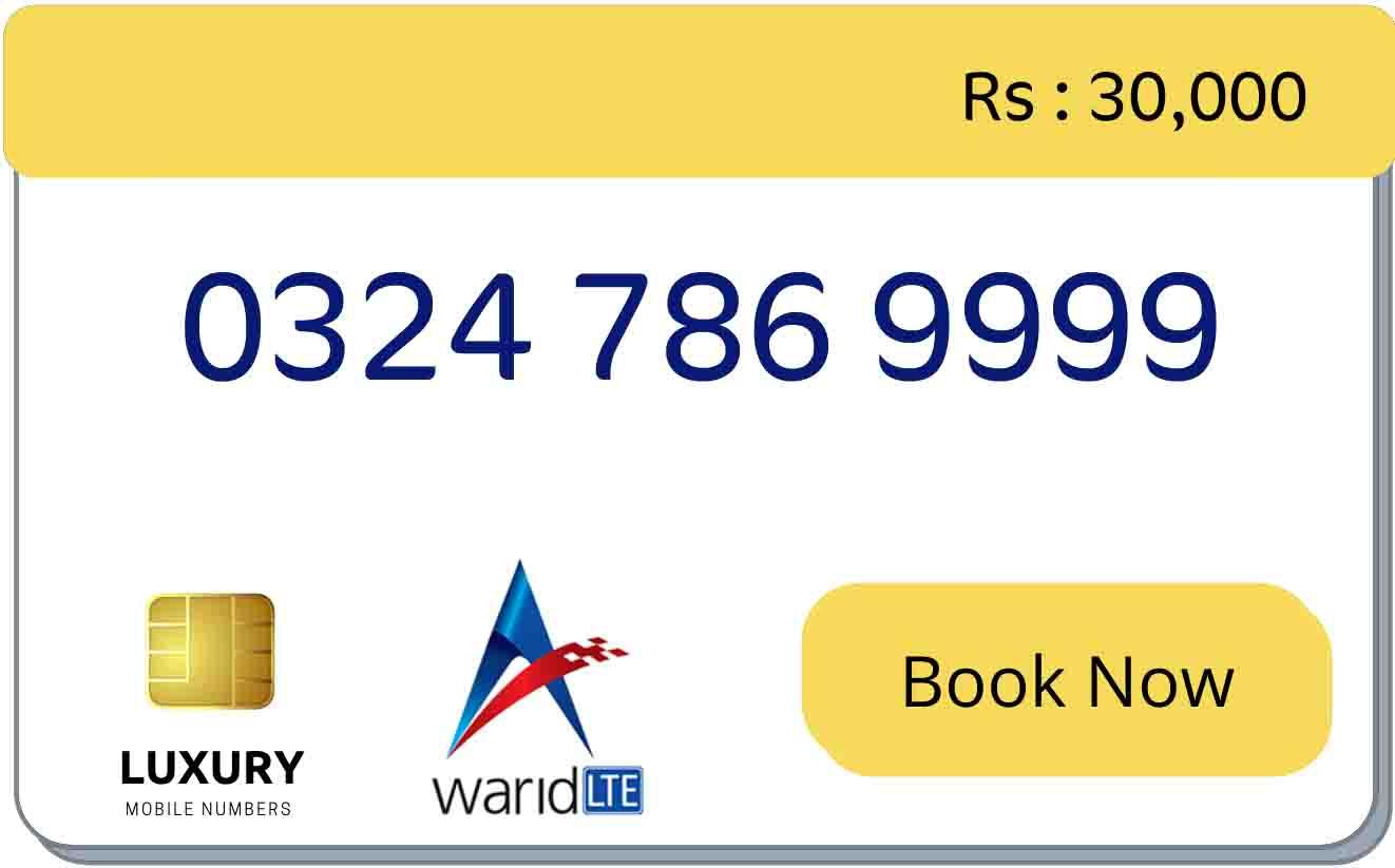 warid 786 number